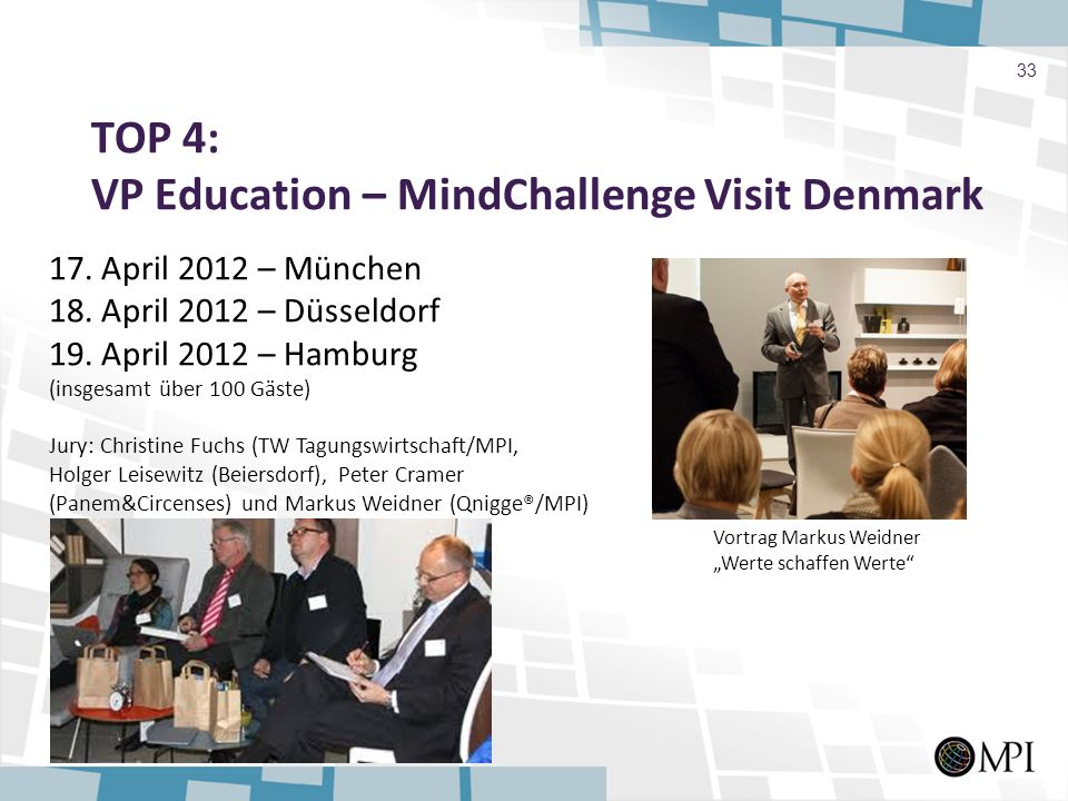 TOP 4: VP Education – MindChallenge Visit Denmark