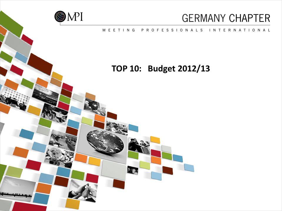 48 TOP 10: Budget 2012/13 48
