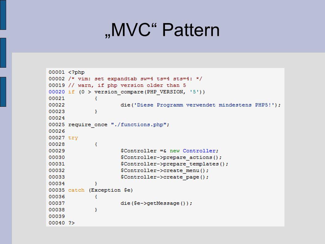"""""""MVC Pattern"""