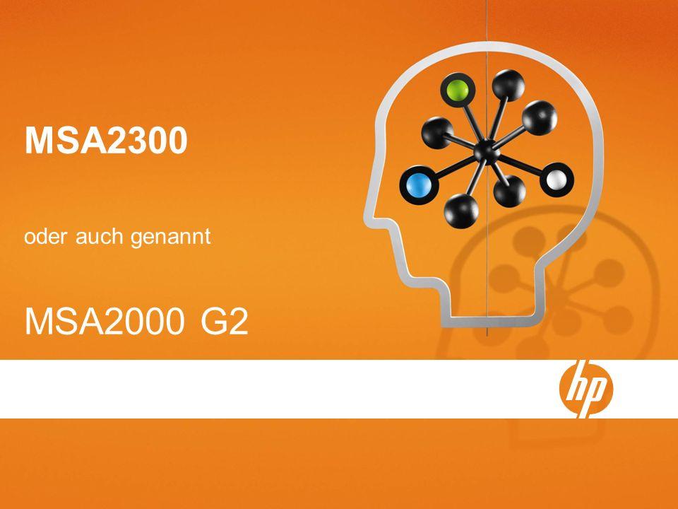 MSA2300 oder auch genannt MSA2000 G2