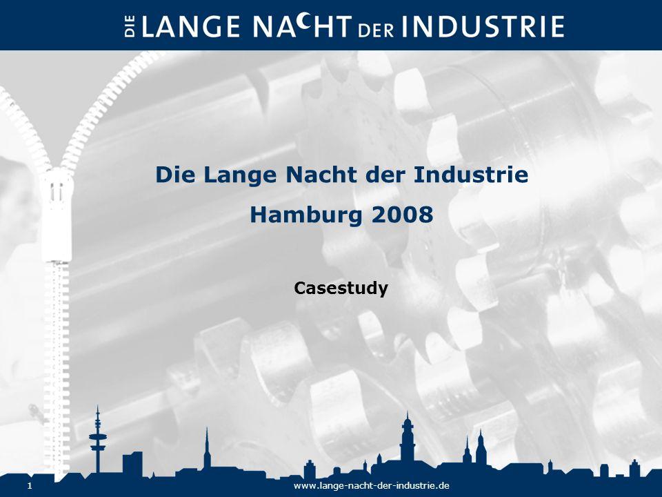 Die Lange Nacht der Industrie Hamburg 2008 Casestudy
