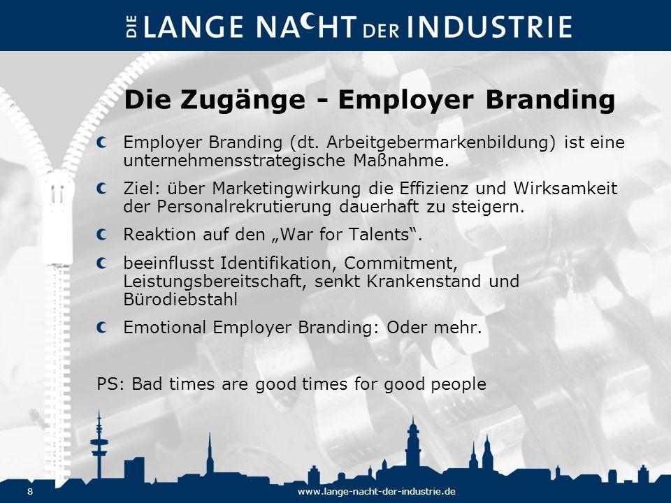 Die Zugänge - Employer Branding
