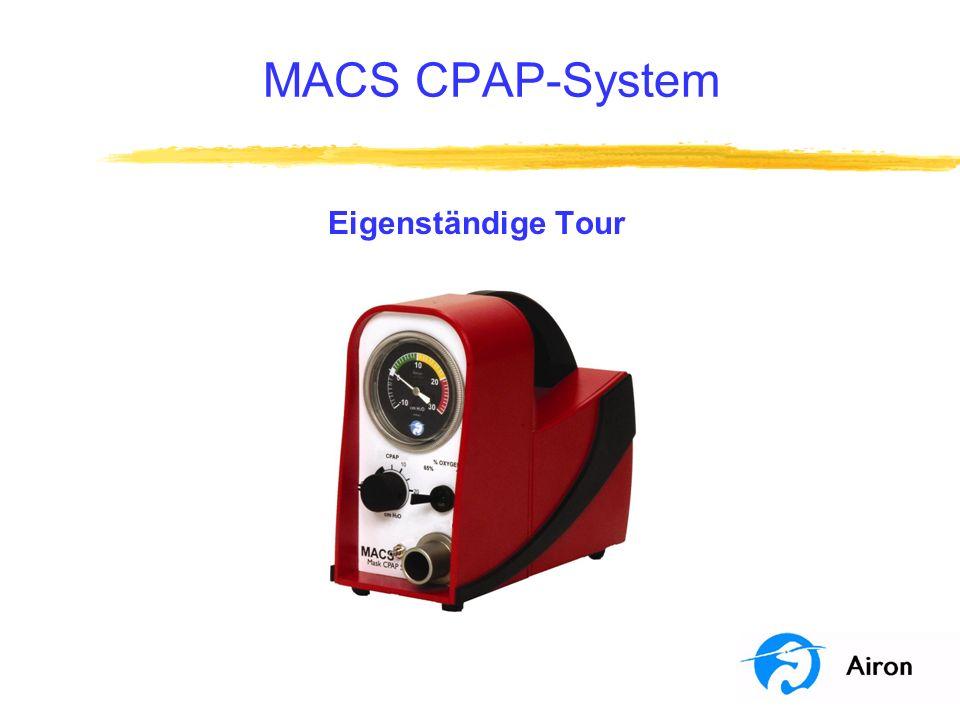 MACS CPAP-System Eigenständige Tour