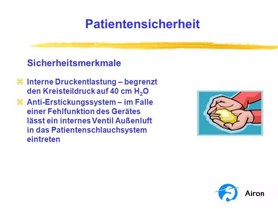 Patientensicherheit Sicherheitsmerkmale