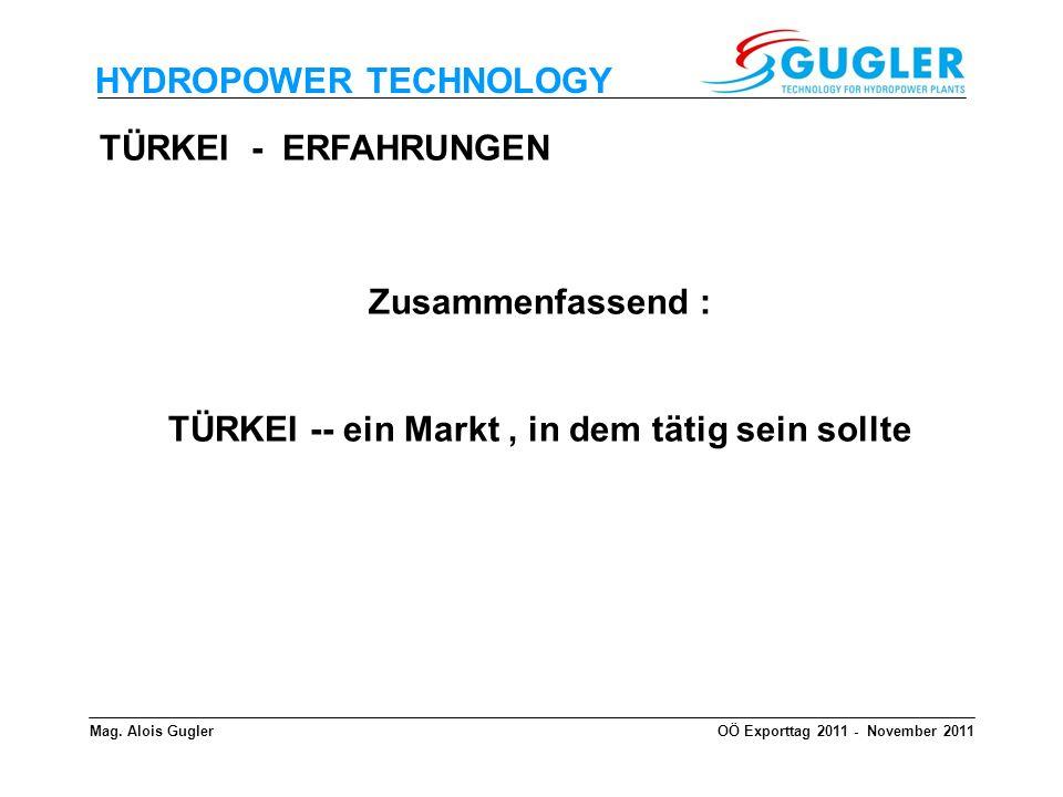 TÜRKEI -- ein Markt , in dem tätig sein sollte