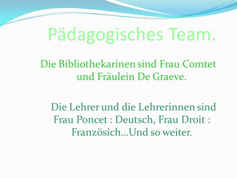 Pädagogisches Team.