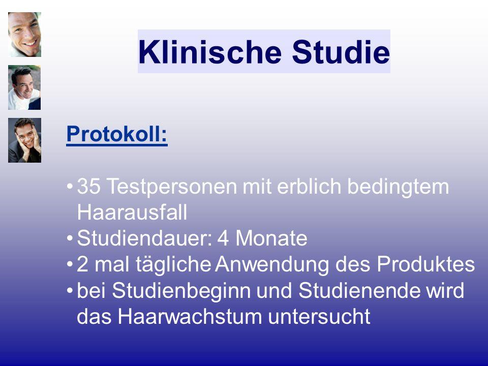 Klinische Studie Protokoll: