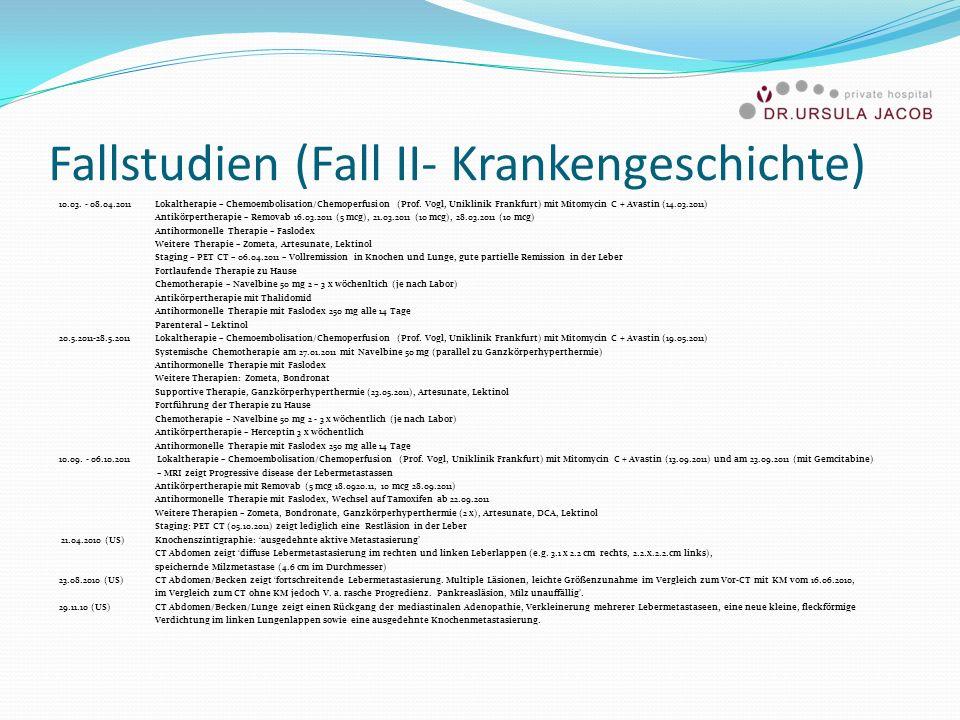 Fallstudien (Fall II- Krankengeschichte)