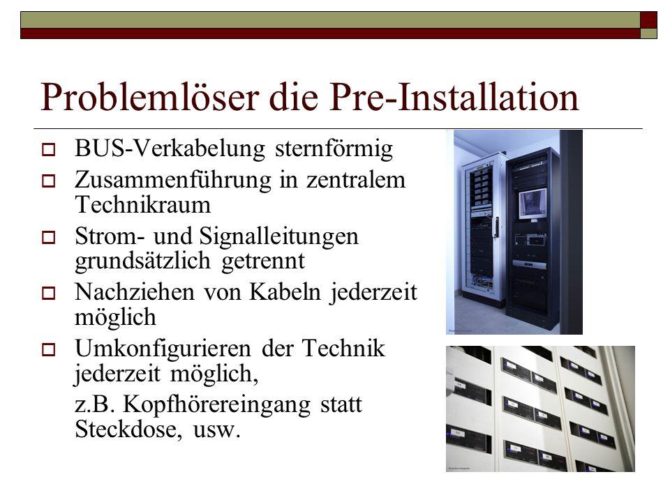 Problemlöser die Pre-Installation