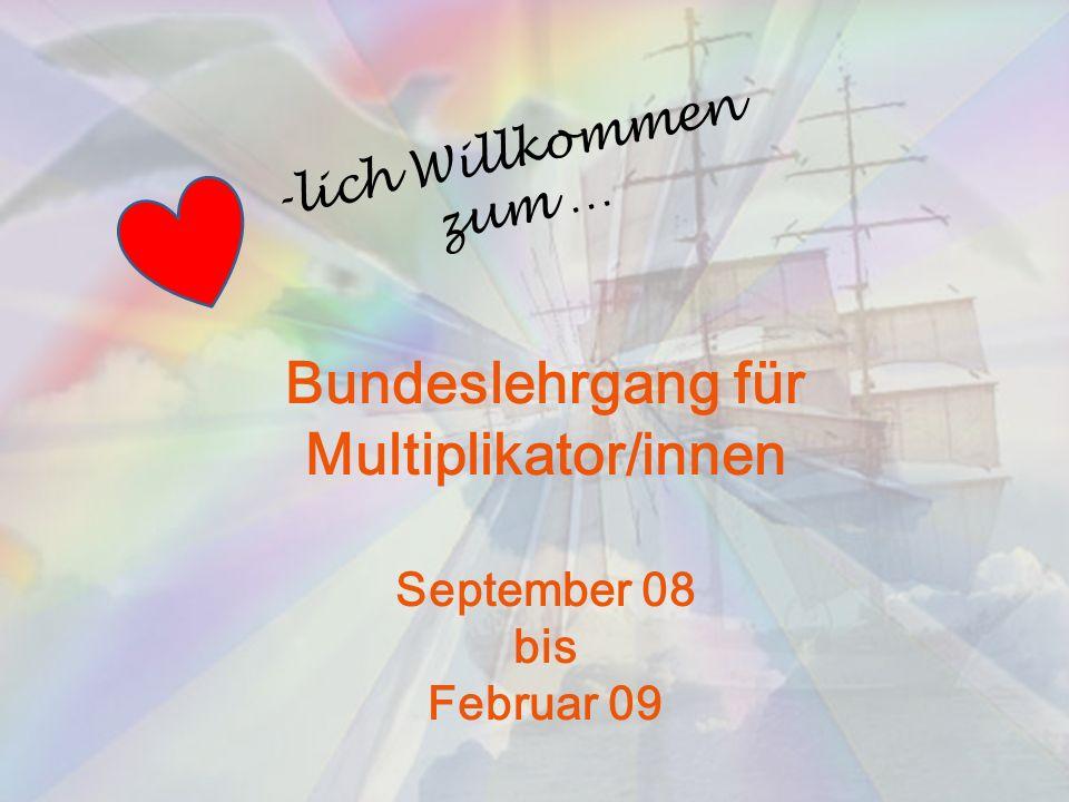 Bundeslehrgang für Multiplikator/innen