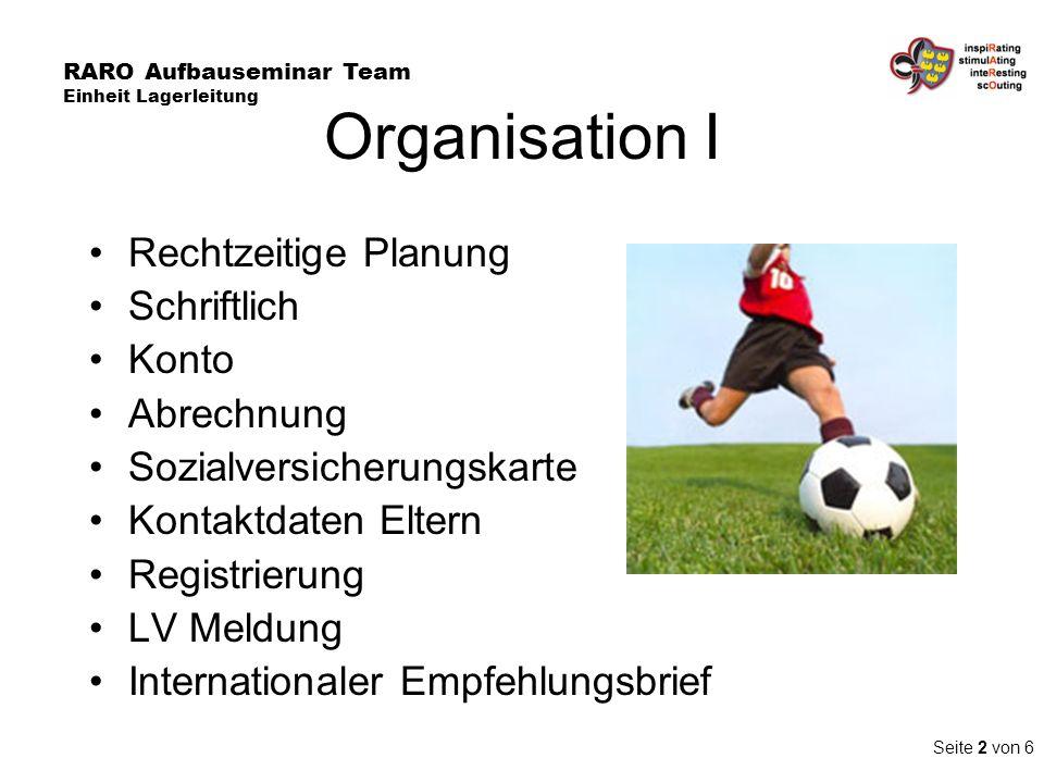 Organisation I Rechtzeitige Planung Schriftlich Konto Abrechnung