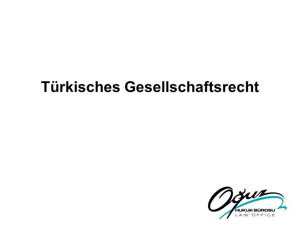 Türkisches Gesellschaftsrecht