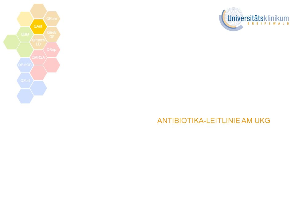 ANTIBIOTIKA-LEITLINIE AM UKG