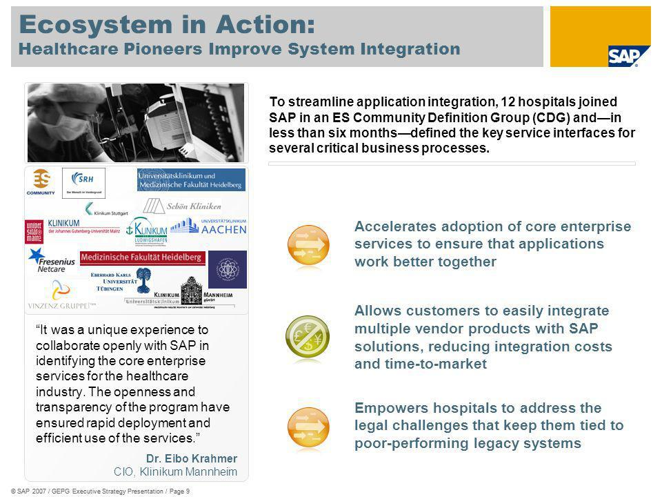Healthcare Pioneers Improve System Integration
