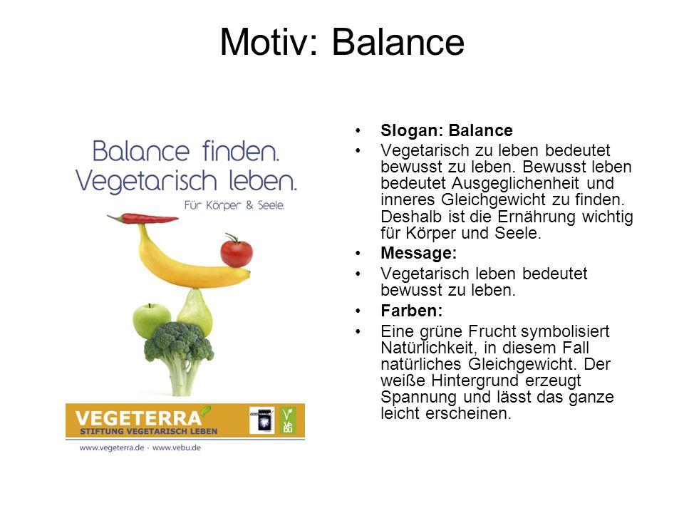 Motiv: Balance Slogan: Balance