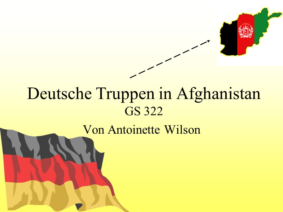 Deutsche Truppen in Afghanistan GS 322