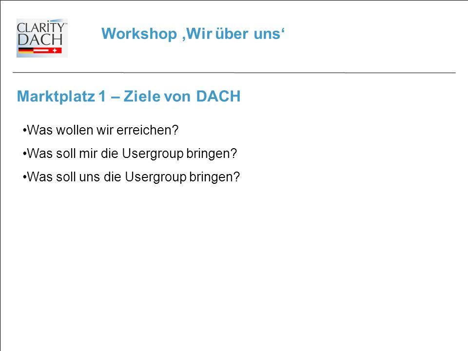 Workshop 'Wir über uns'