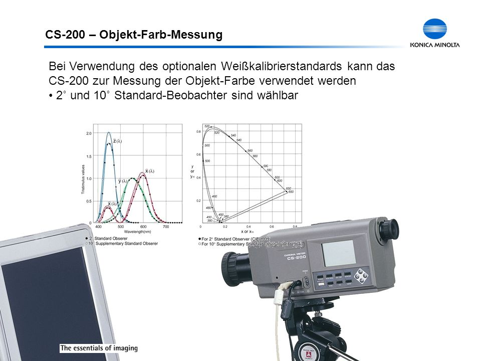 CS-200 – Objekt-Farb-Messung
