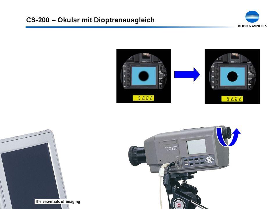 CS-200 – Okular mit Dioptrenausgleich