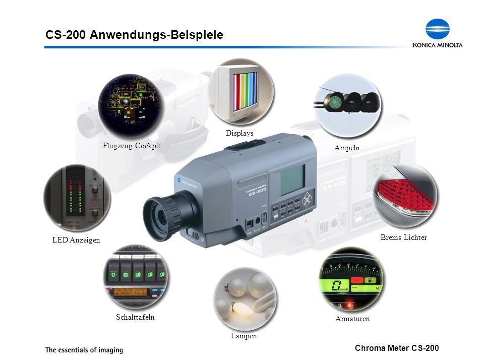 CS-200 Anwendungs-Beispiele