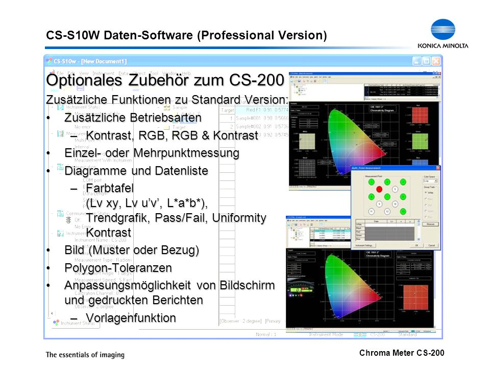 CS-S10W Daten-Software (Professional Version)