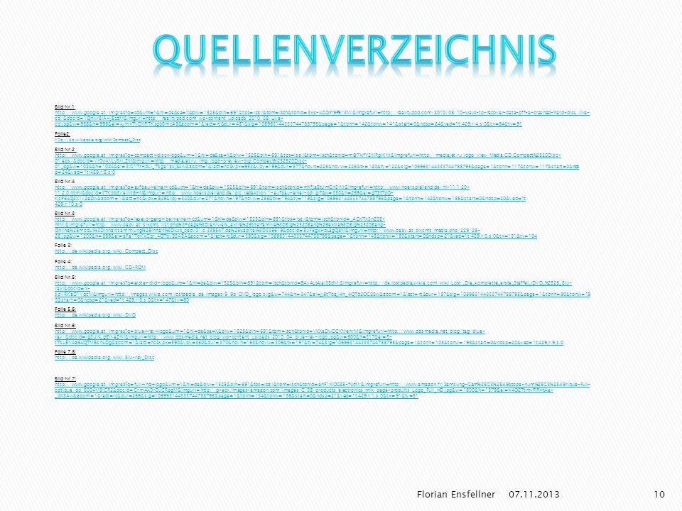 Quellenverzeichnis Florian Ensfellner 25.03.2017 Bild Nr.1: