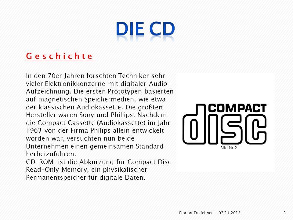 Die CD Geschichte.