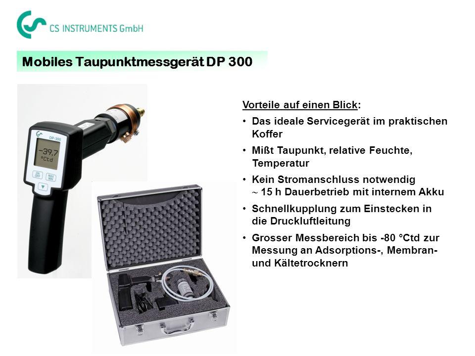 Mobiles Taupunktmessgerät DP 300
