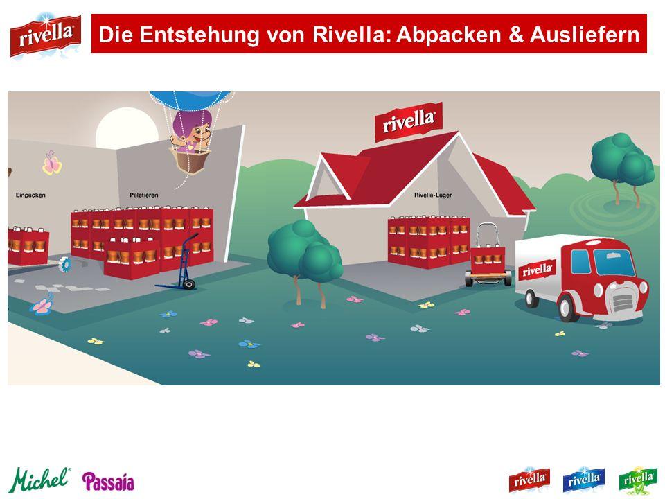Die Entstehung von Rivella: Abpacken & Ausliefern