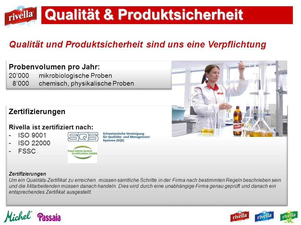 Qualität & Produktsicherheit
