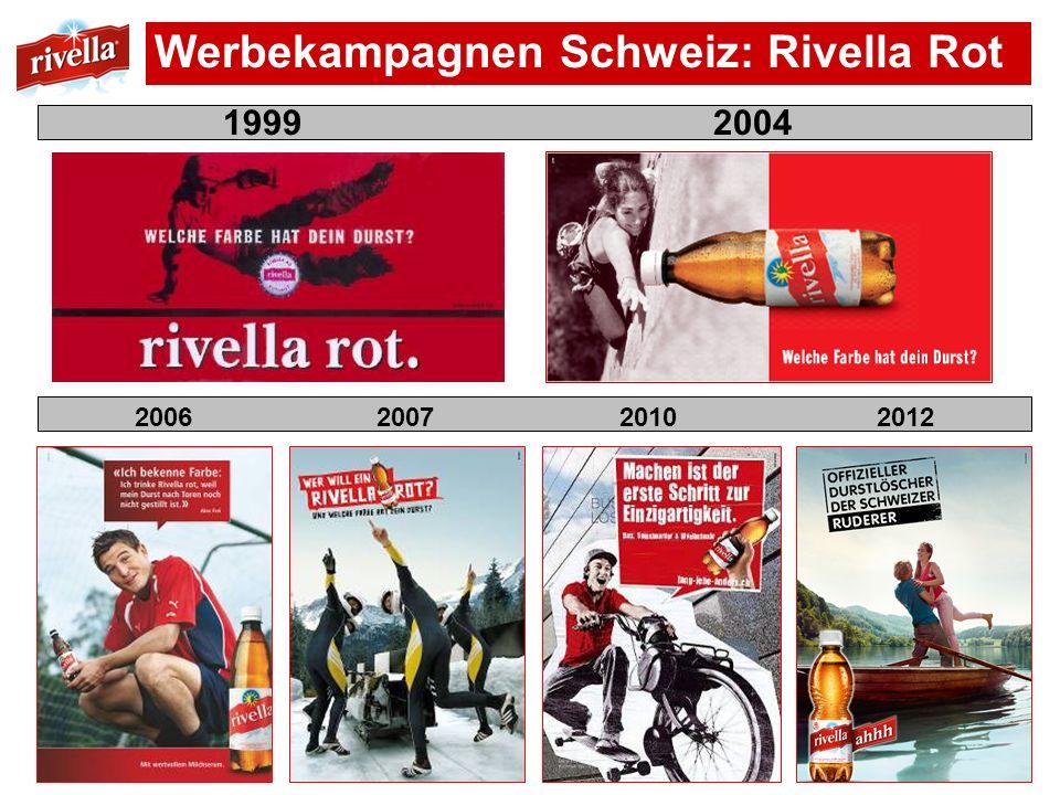 Werbekampagnen Schweiz: Rivella Rot