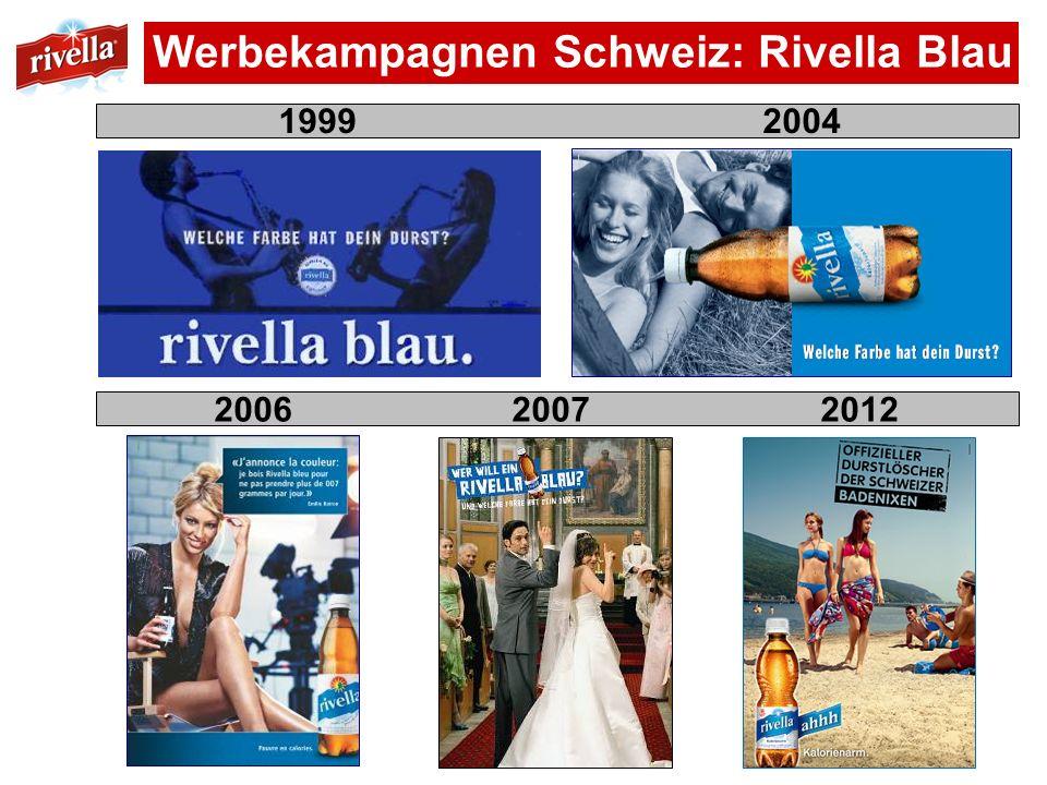 Werbekampagnen Schweiz: Rivella Blau