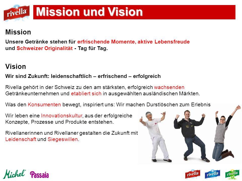 Mission und Vision Mission Vision