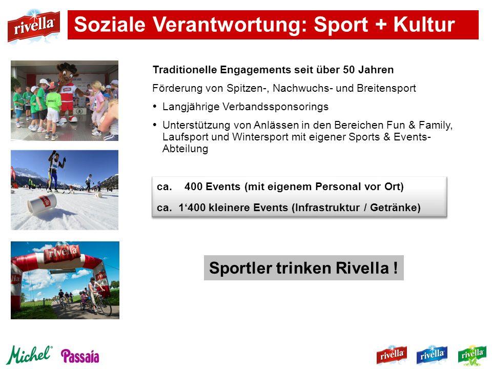 Soziale Verantwortung: Sport + Kultur