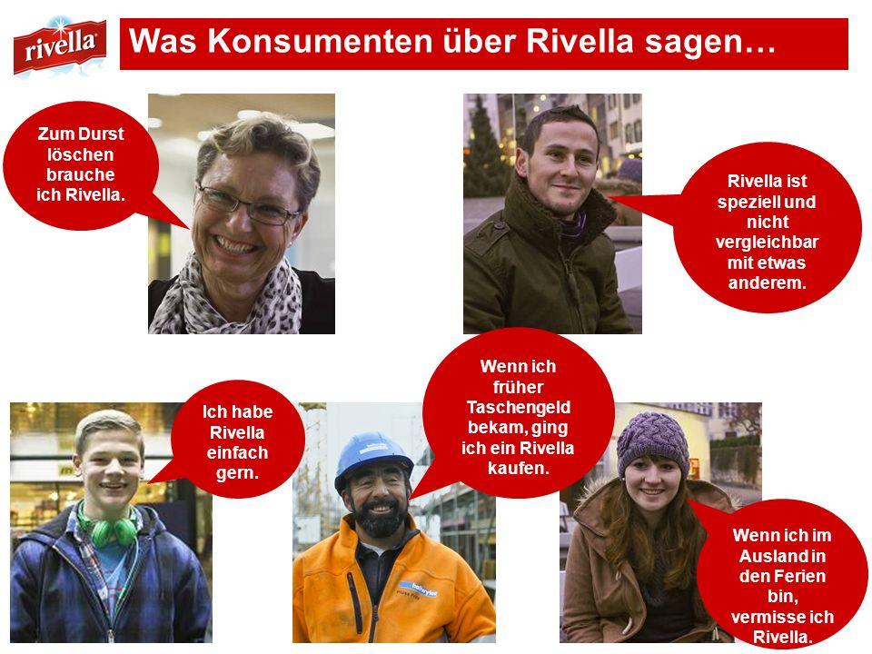 Was Konsumenten über Rivella sagen…