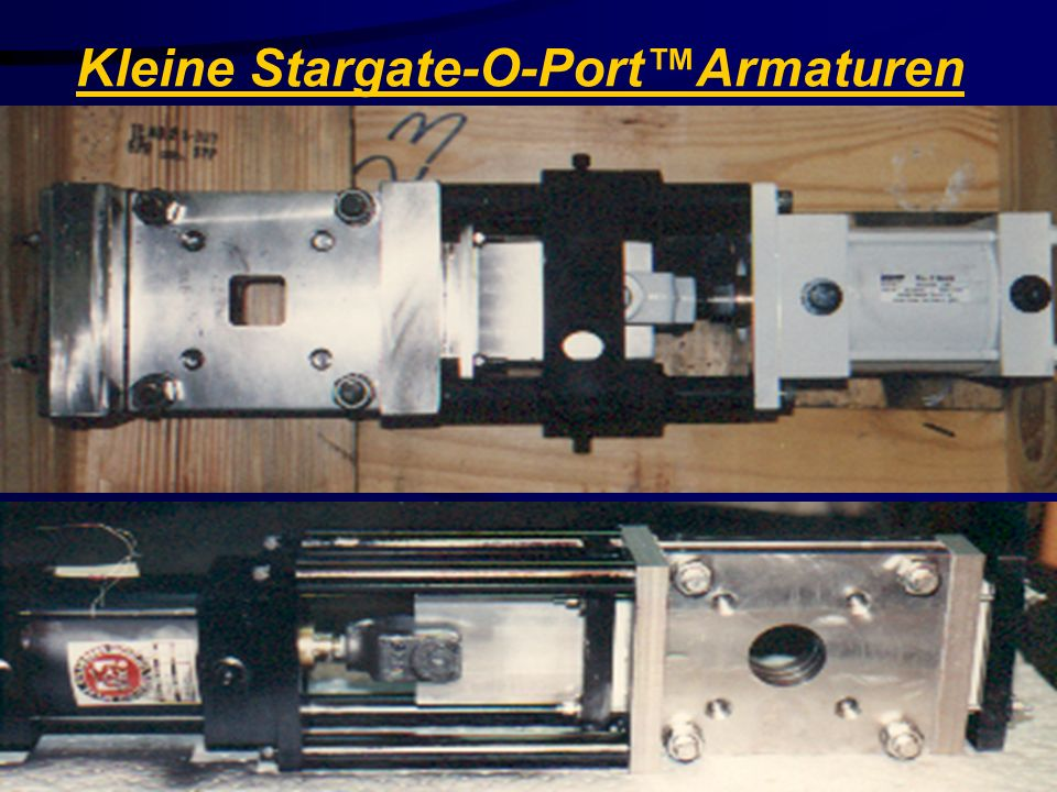 Kleine Stargate-O-Port™Armaturen