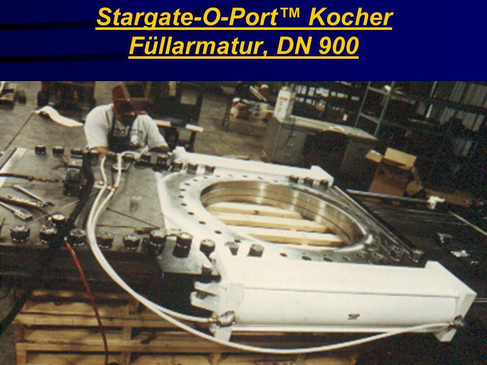 Stargate-O-Port™ Kocher Füllarmatur, DN 900