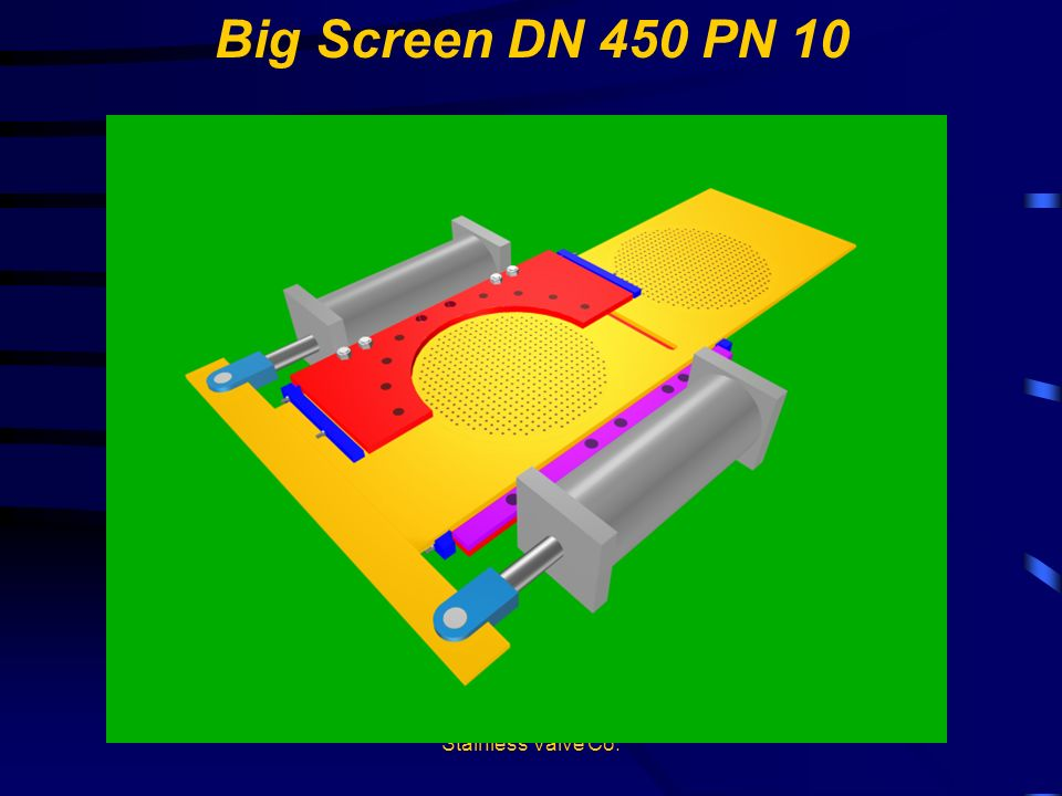 Big Screen DN 450 PN 10 Stainless Valve Co.