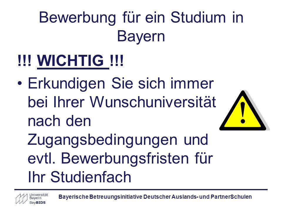 Studieren An Bayerischen Universitäten - Ppt Herunterladen