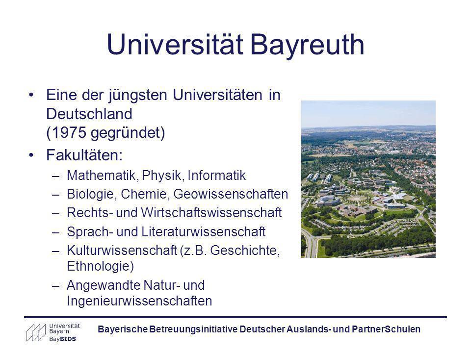 Bayerische Betreuungsinitiative Deutscher Auslands- und PartnerSchulen