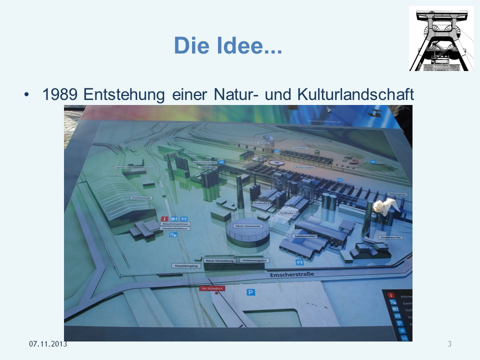 Die Idee... 1989 Entstehung einer Natur- und Kulturlandschaft