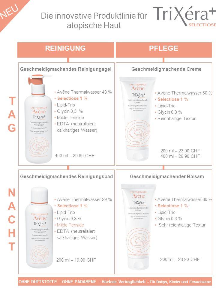 Die innovative Produktlinie für atopische Haut