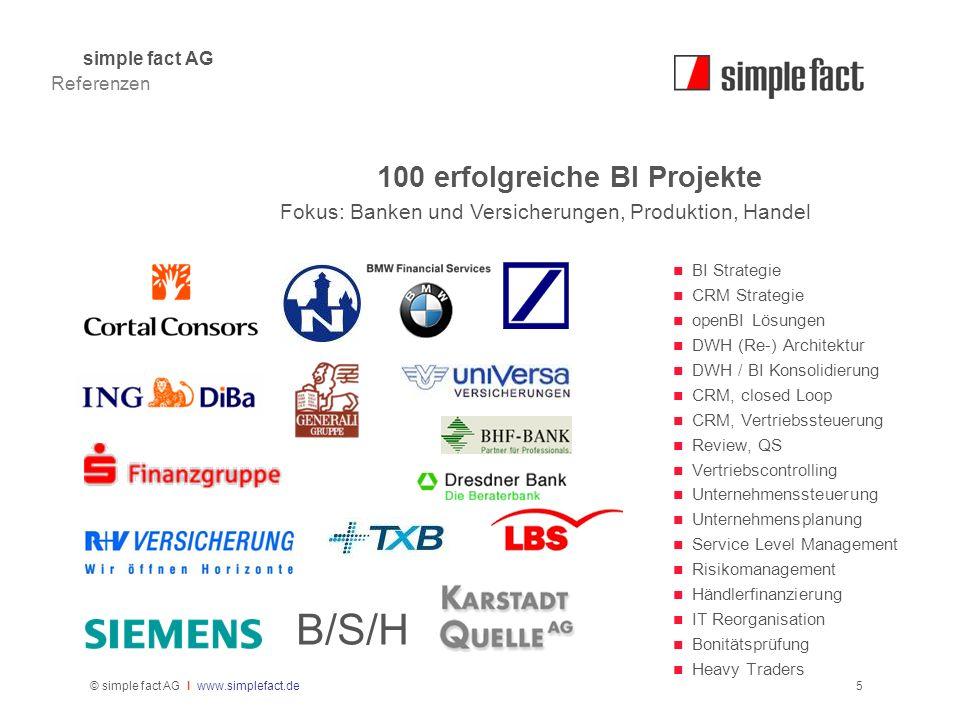 100 erfolgreiche BI Projekte