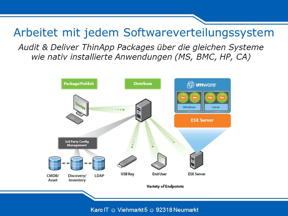Arbeitet mit jedem Softwareverteilungssystem