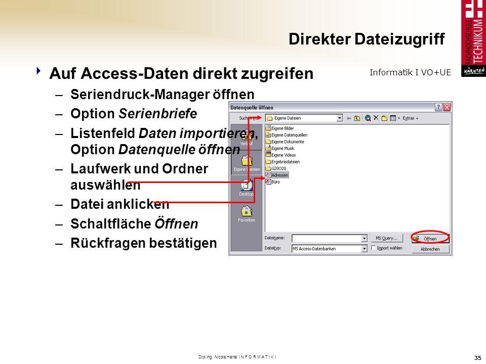 Direkter Dateizugriff