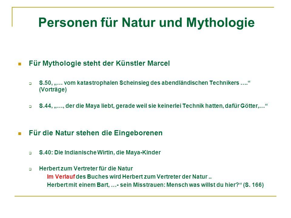 Personen für Natur und Mythologie