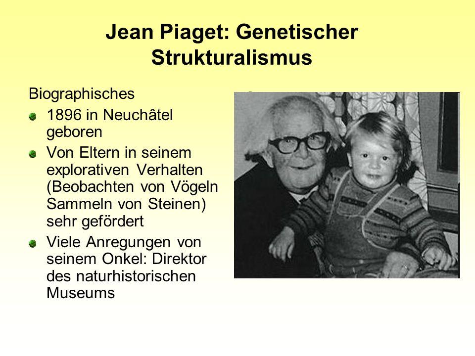 Jean Piaget: Genetischer Strukturalismus
