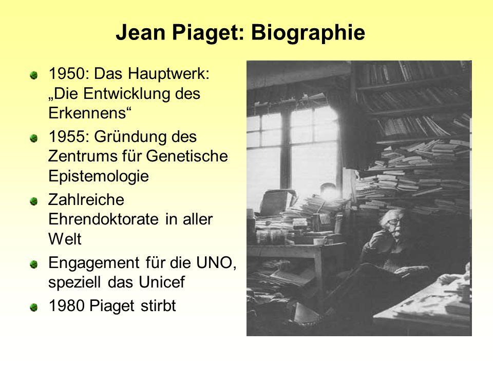 Jean Piaget: Biographie
