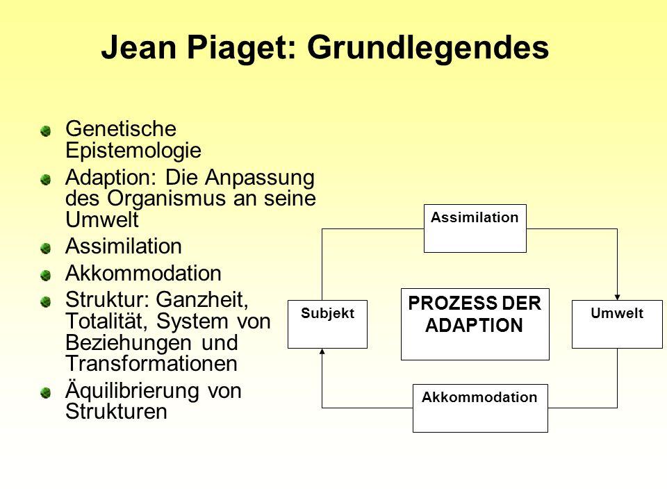 Jean Piaget: Grundlegendes
