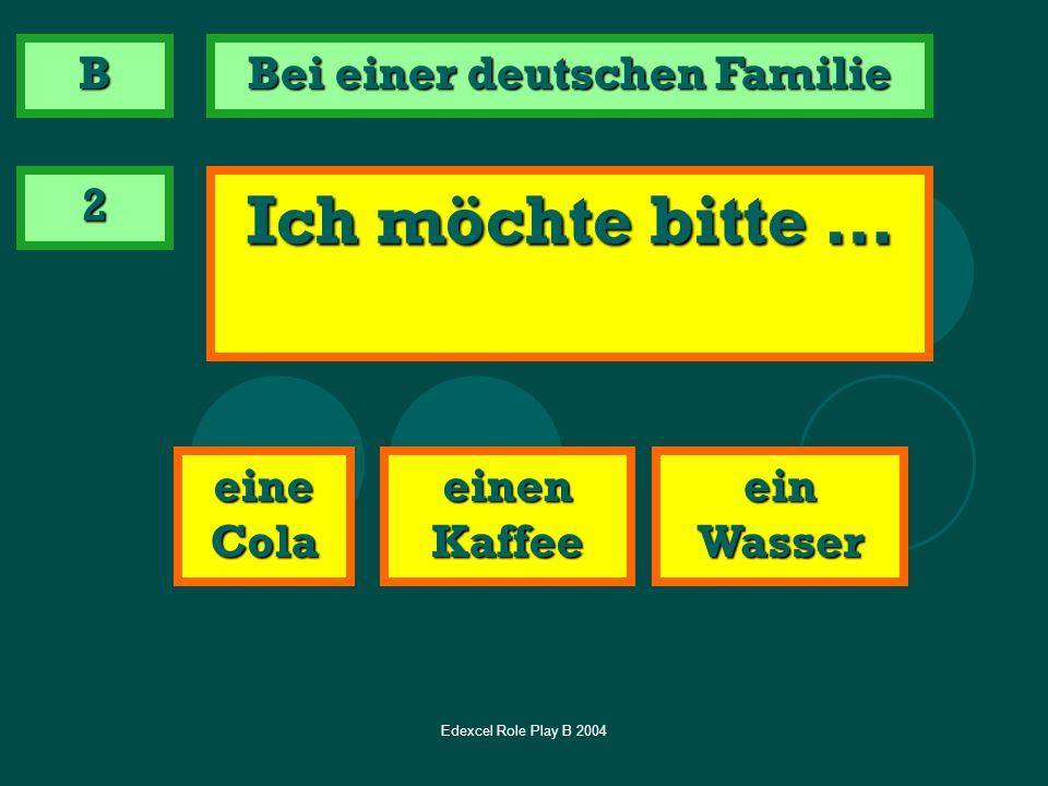 Bei einer deutschen Familie